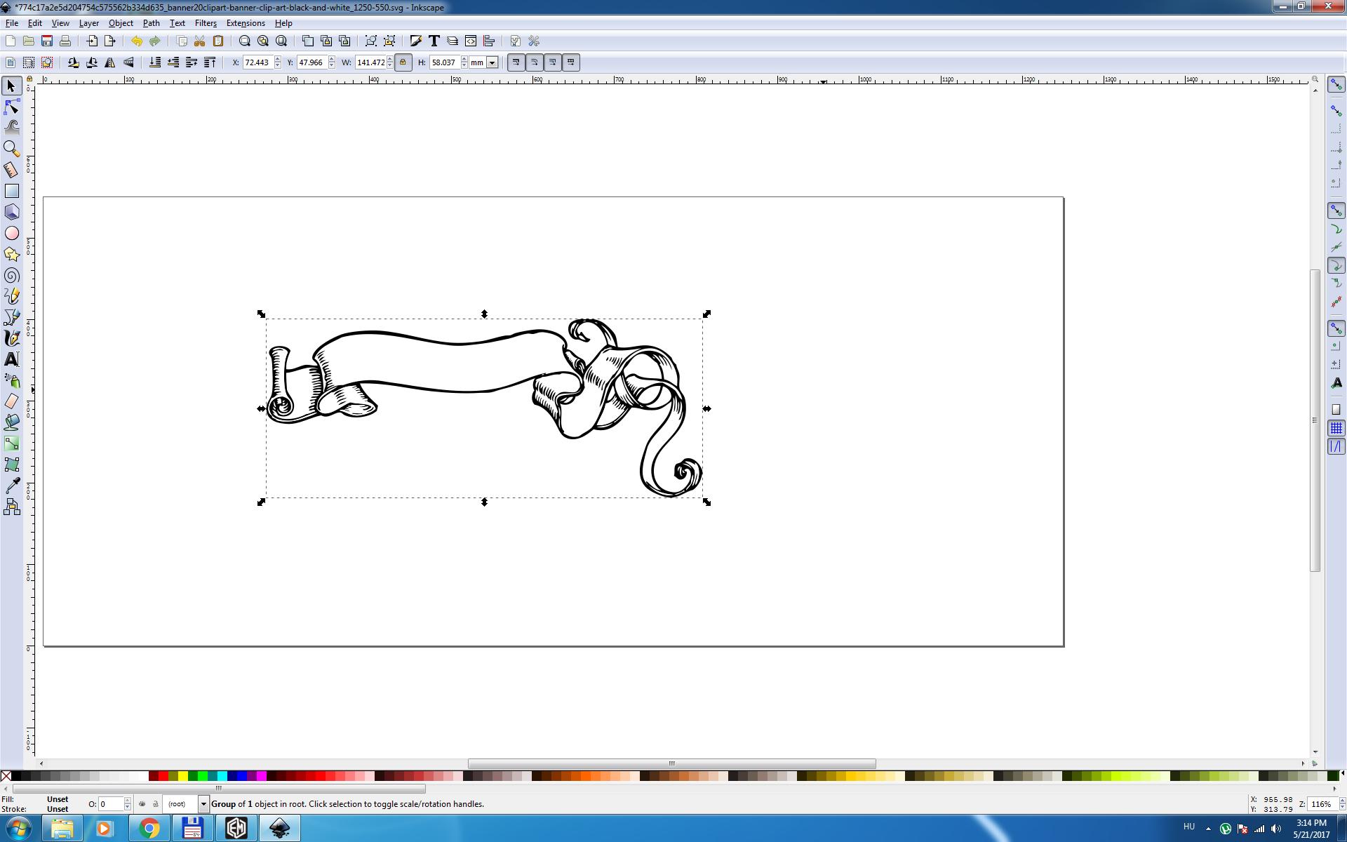 Inkscape Tsp